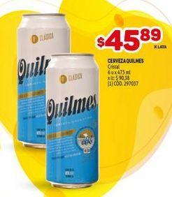 Oferta de Cerveza Quilmes por $45,89