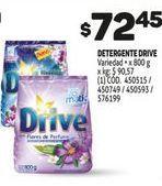 Oferta de Detergente Drive por $72,45