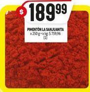 Oferta de Pimentón por $189,99