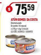 Oferta de Atún desmenuzado en aceite vegetal Gomes da Costa por $75,59