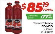 Oferta de Tomate triturado Coinco por $85,19