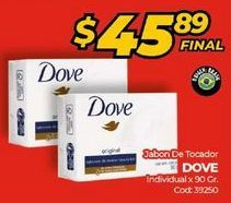 Oferta de Jabón de tocador Dove por $45,89