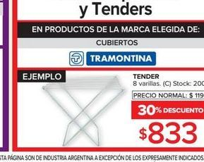 Oferta de Tender Tramontina por $833