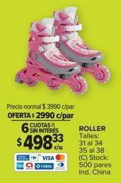 Oferta de Rollers por $2990