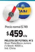 Oferta de Pelota de fútbol por $459