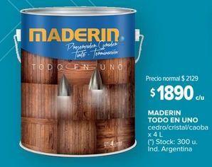 Oferta de Maderin todo en uno por $1890