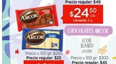 Oferta de Chocolate Arcor por $24,5