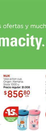 Oferta de Vaso action cup NUK por $856,8