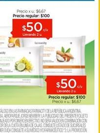 Oferta de FARMACITY Toallas Húmedas Antibacteriales Cross Mini X 10 u. por $50