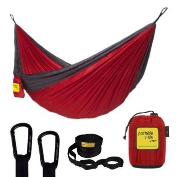 Oferta de Hamaca portable individual pro con straps por $3669