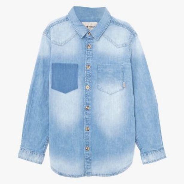 Oferta de Camisa denim 10 a 16 por $1995