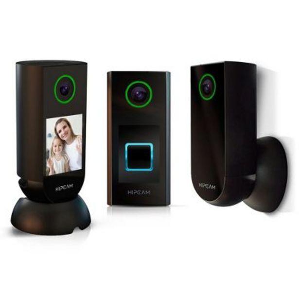 Oferta de Set 3 cámaras IP interior, exterior + Doorbell por $39399