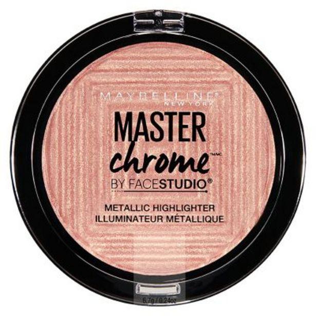 Oferta de Iluminador Master Chrome Molten Rosegold 24ml por $883