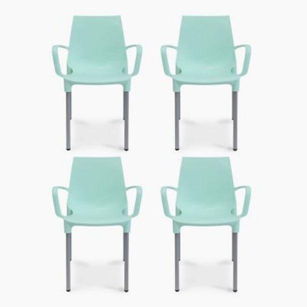 Oferta de Set por 4 sillas Lola con brazo por $19990