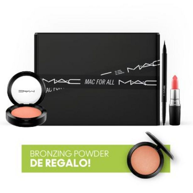 Oferta de Set de maquillaje MAC + Bronzer Powder de regalo! por $3990
