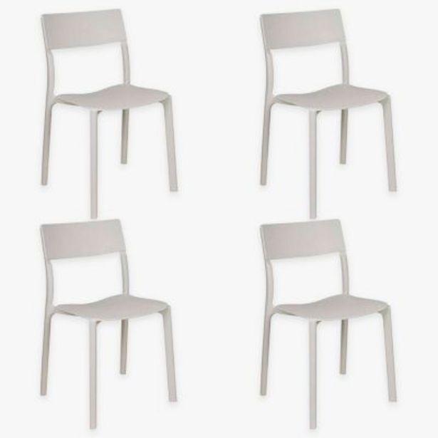Oferta de Set por 4 sillas de comedor State por $35690