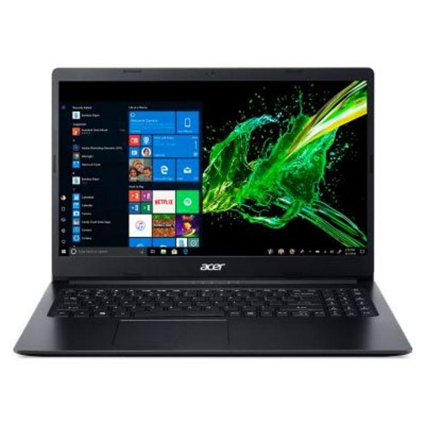 Oferta de Notebook Intel Celeron A315-34-C7RP-AR 4GB RAM por $44999
