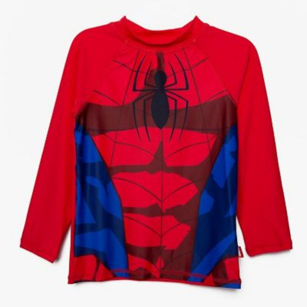 Oferta de Remera UV estampada Spider-Man 3 a 12 por $1490