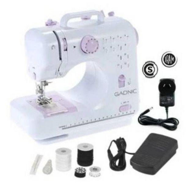 Oferta de Máquina de coser hogar 12 tipos de puntada por $15999