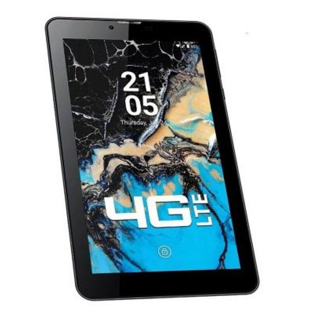 """Oferta de Tablet teléfono 4G Lte 7"""" T7L rojo por $13699"""