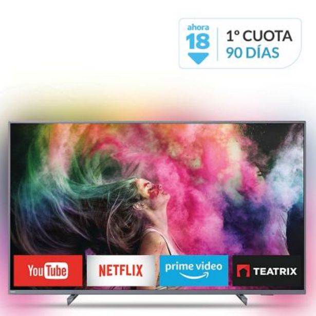"Oferta de Smart TV LED 65"" 65PUD6794/77 4K Ultra HD por $109999"