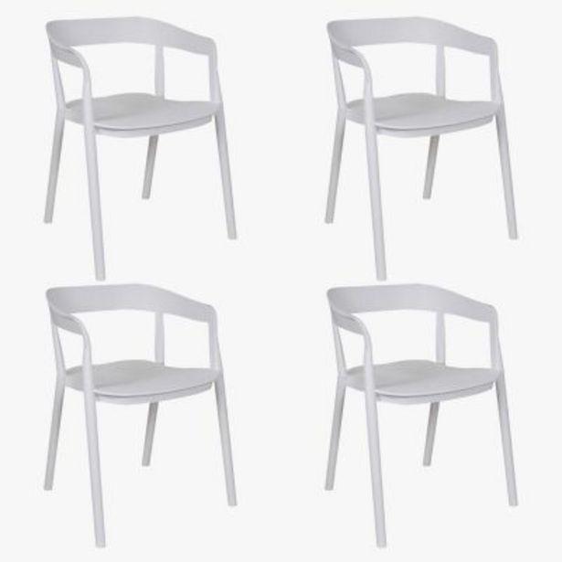Oferta de Juego de 4 sillas de comedor Evoque por $36890