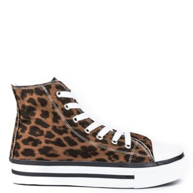 Oferta de Zapatillas animal print mujer por $2399