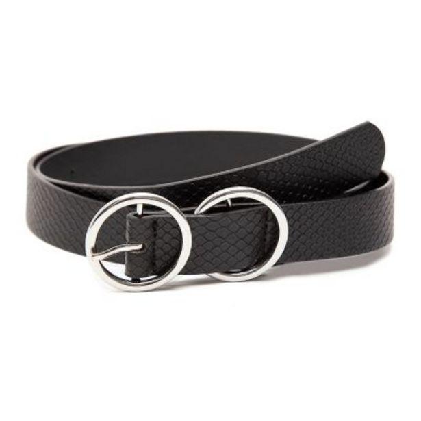 Oferta de Cinturón con textura por $990