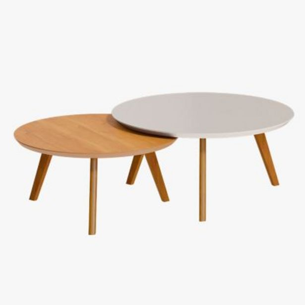 Oferta de Set por 2 mesas de centro classic por $12467