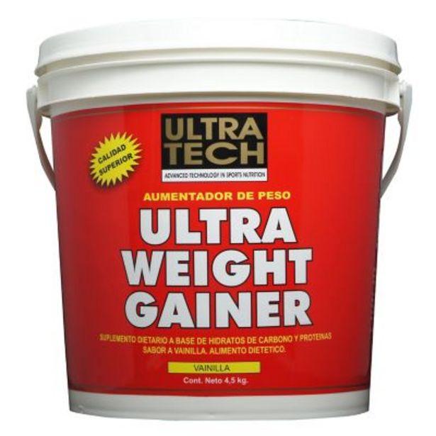 Oferta de Ultra weight gainer 4.5 kg vainilla por $3859