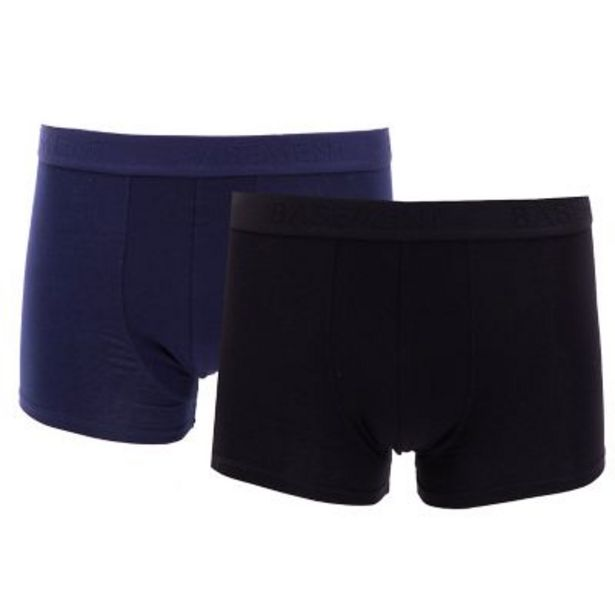 Oferta de Pack por 2 boxers lisos por $1690