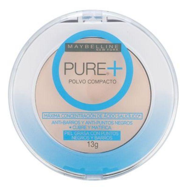 Oferta de Polvo Compacto Pure Makeup Plus 9g por $442