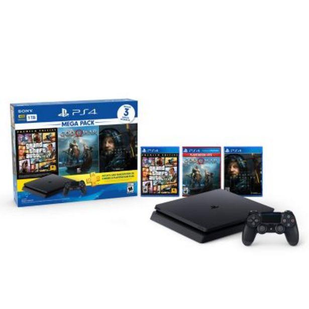 Oferta de PS4 1TB mega pack por $64999