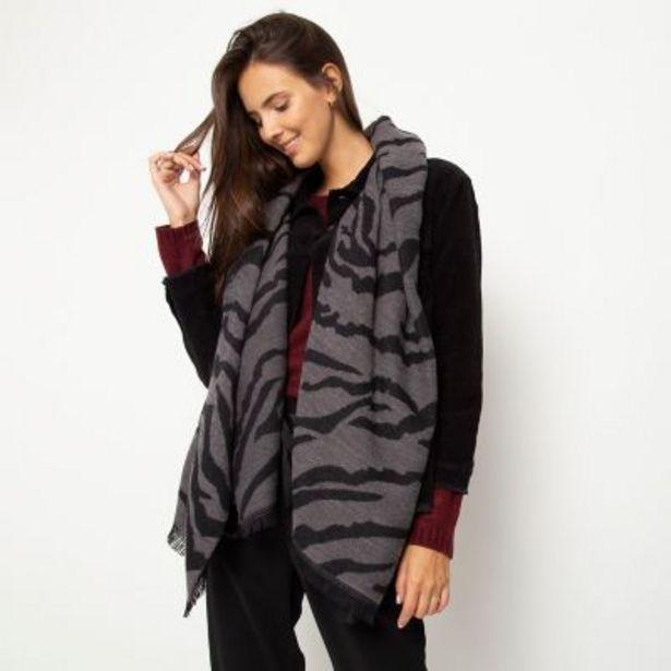 Oferta de Maxi bufanda Zebra por $699