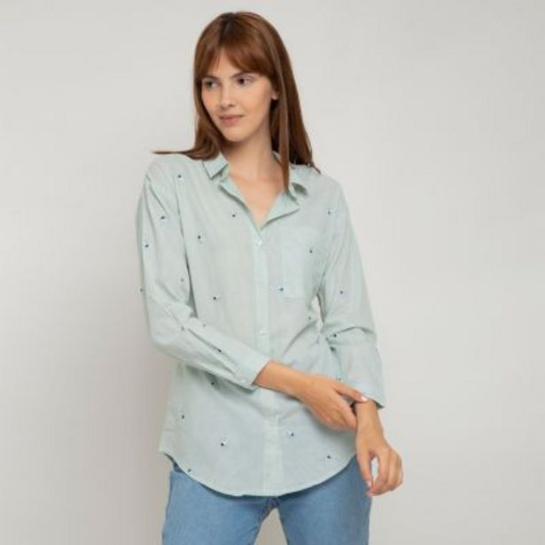 Oferta de Camisa bordada por $1990