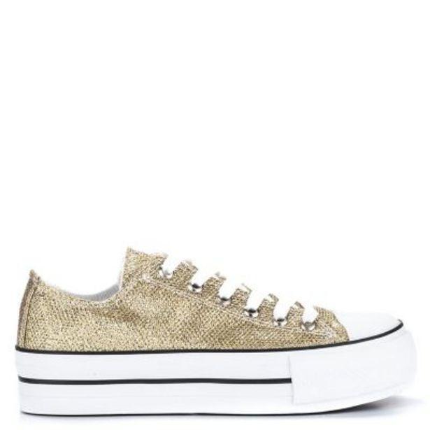 Oferta de Zapatillas Glitter mujer por $1449