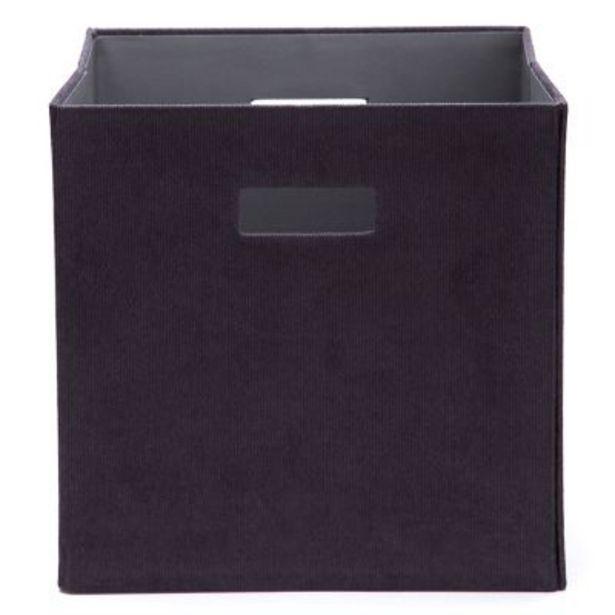 Oferta de Caja organizadora Corderoy 28x28 cm por $1701