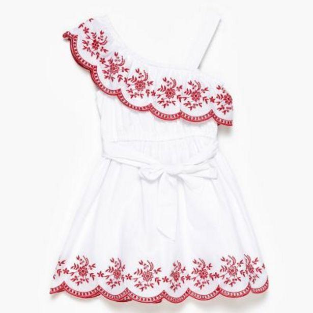 Oferta de Vestido bordado 2 a 12 por $3690