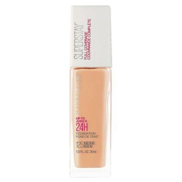 Oferta de Base de Maquillaje Super Stay 24hs Full Coverage 30ml por $848