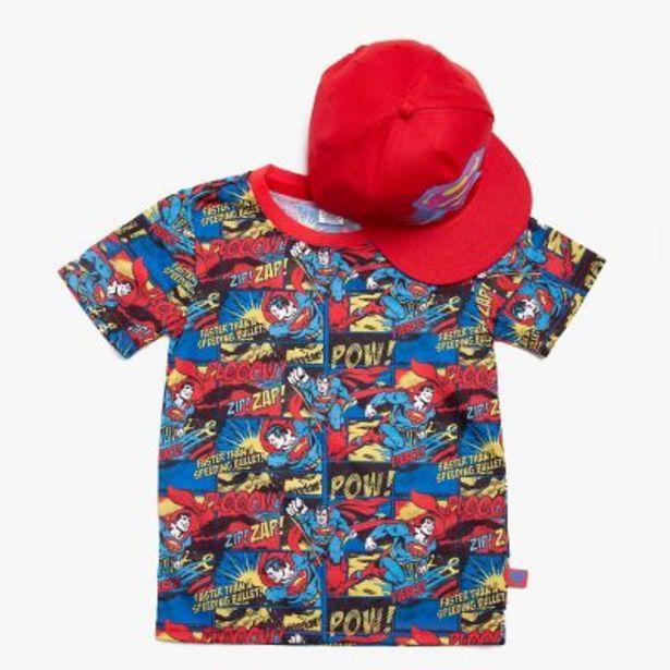 Oferta de Pack remera + gorra Batman 4 a 10 por $1490