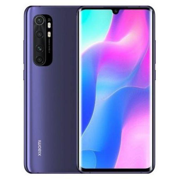 Oferta de Celular libre Mi Note 10 Lite 6GB 128GB violeta por $100935