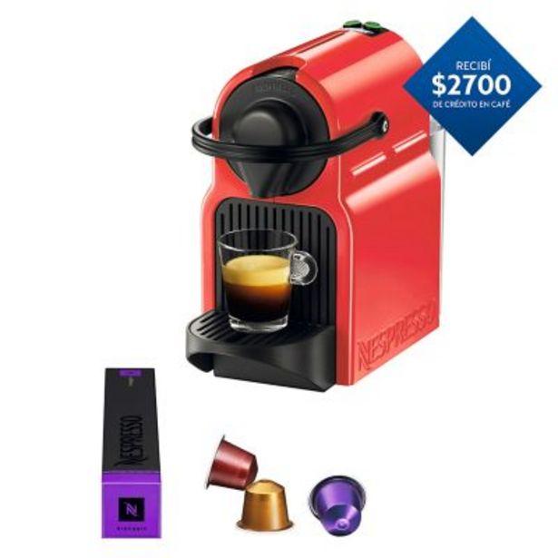 Oferta de Cafetera Inissia BK Pack 0.7l por $14990