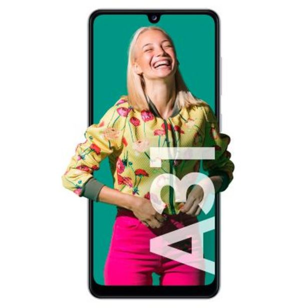Oferta de Celular libre A31 Blanco 128GB 4GB RAM por $34999