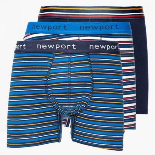 Oferta de Pack por 3 boxers print por $1990