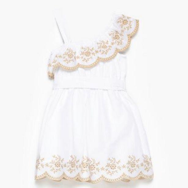 Oferta de Vestido bordado 2 a 12 por $1690