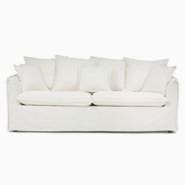 Oferta de Sillón Atlanta lino 3 cuerpos por $89990