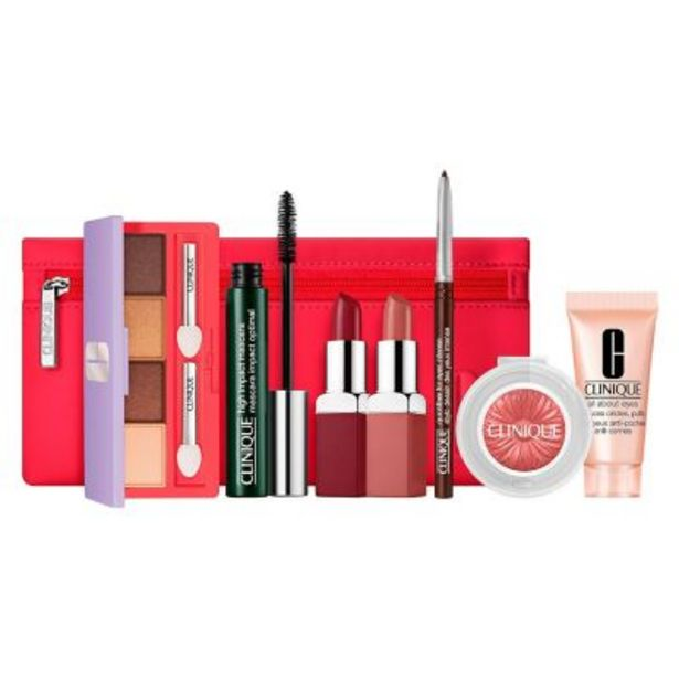 Oferta de Set de maquillaje From Daylight to Date Night ¿ 7 productos + Cosmetiquera por $12388