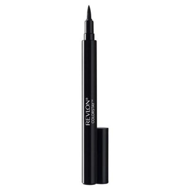 Oferta de Liquid Eye Pen Revlon Cs Blackest Black 9.5 ml por $800