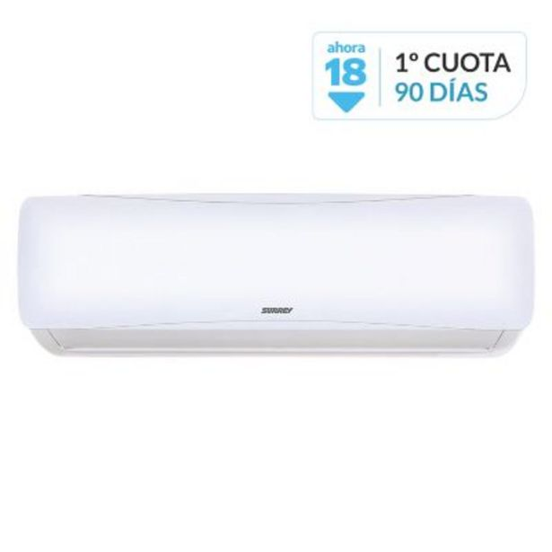 Oferta de Aire acondicionado split 3001 fg frío-calor 553BFQ1201F 3490W por $55859
