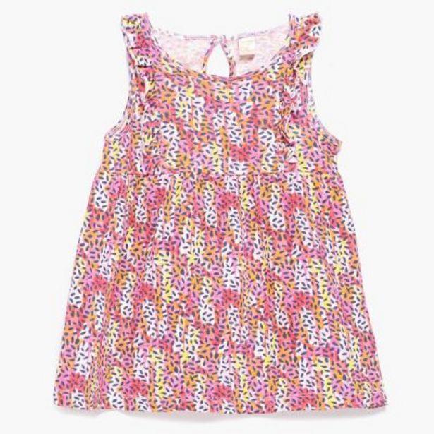 Oferta de Vestido estampado 6 a 24 meses por $699